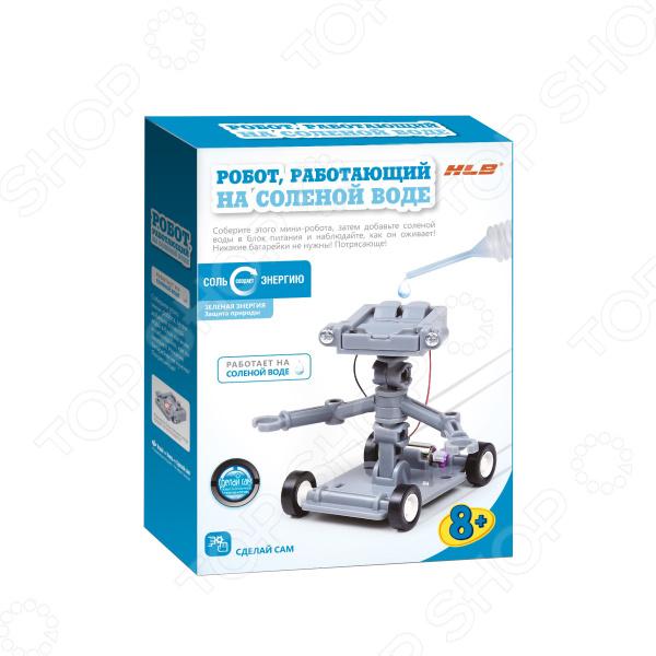 Конструктор развивающий HLB «Робот на соленой воде» конструктор развивающий hlb автомобиль на соленой воде