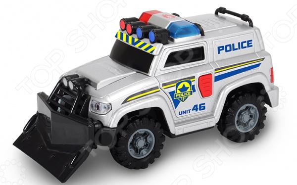 Машинка со светозвуковыми эффектами Dickie «Полицейская машина» барабанная циклевочная машина со 206 бу