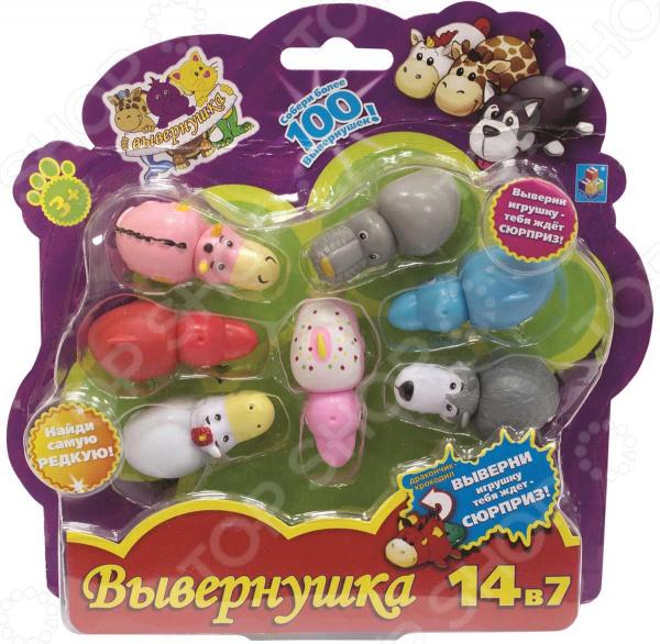 Набор игрушек 1 Toy «Вывернушка 2 в 1» Т10873. В ассортименте