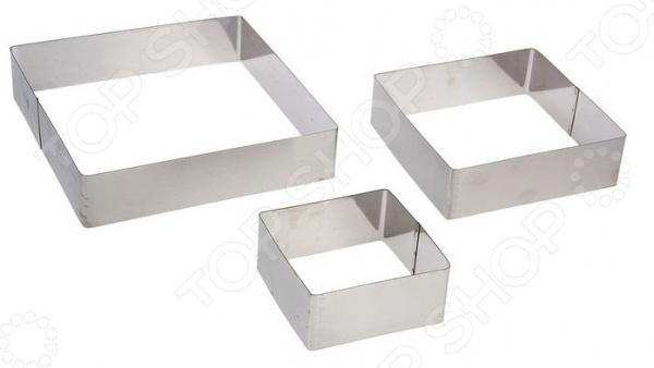Набор форм для выпечки «Квадрат» набор форм для выпечки menu 5см 3 5см 50шт бумага