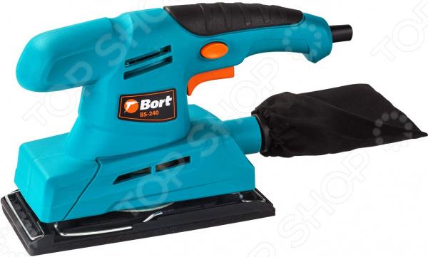 Машина шлифовальная вибрационная Bort BS-240 Машина шлифовальная вибрационная Bort BS-240 /