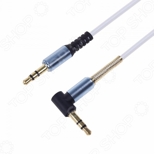 Кабель аудио Rexant штекер-штекер угловой