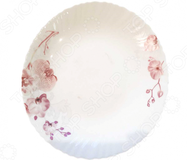Тарелка десертная Miolla «Орхидея»