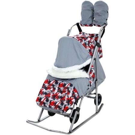 Купить Санки-коляска «Метелица-Премиум»