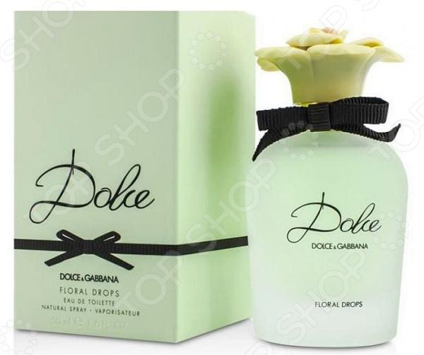 Туалетная вода для женщин Dolce and Gabbana Dolce Floral Drops dolce and gabbana платье от dolce and gabbana 74504 голубой
