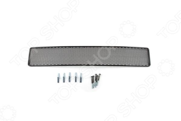 Сетка на бампер внешняя Arbori Soty для Ford Explorer, 2012-2015. Цвет: черный сетка на бампер внешняя arbori soty для ford mondeo 2015