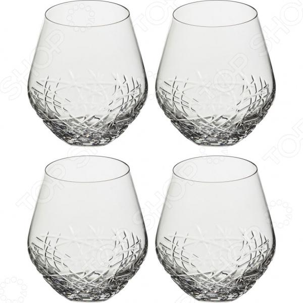 Набор стаканов Aurum-crystal «Граффити» 614-528