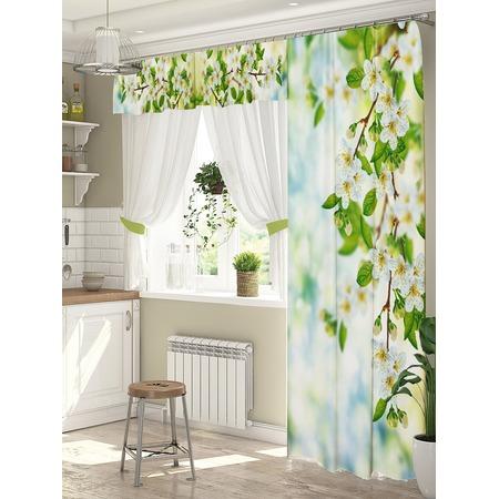 Купить Комплект штор для окна с балконом ТамиТекс «Милосердие»