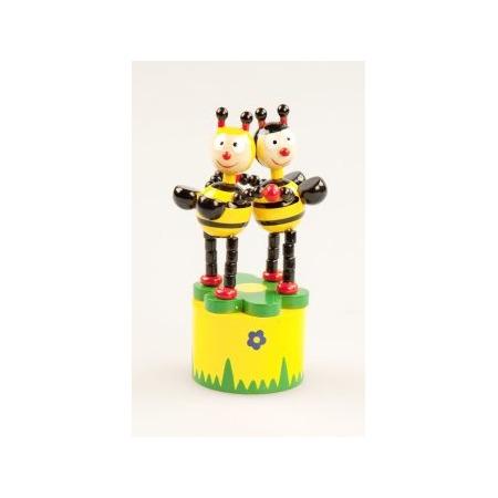 Купить Игрушка деревянная Mapacha «Танцующие пчелки»