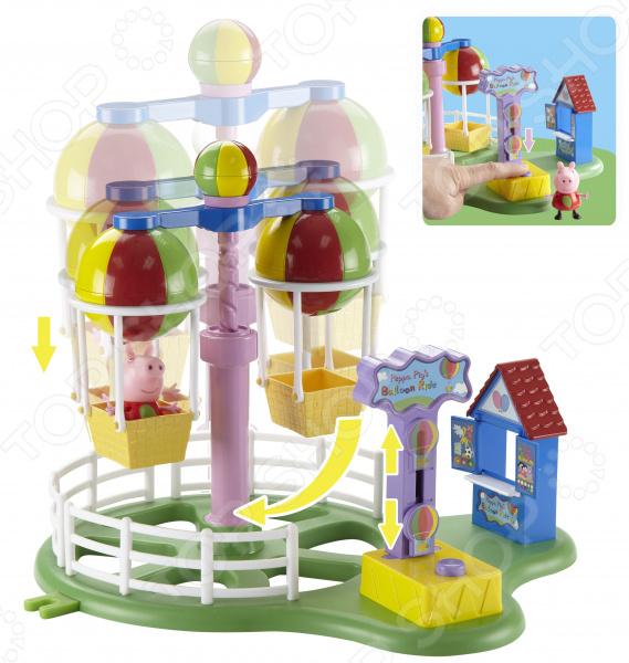 Игровой набор с фигуркой Peppa Pig «Карусель. Луна Парк» игровой набор росмэн т м peppa pig водная горка луна парк