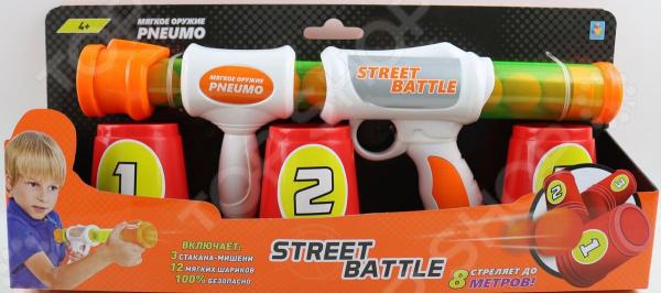 Оружие игрушечное 1 Toy Street Battle Т13646 игрушечное оружие maskbro maskbro mp002xc006ut