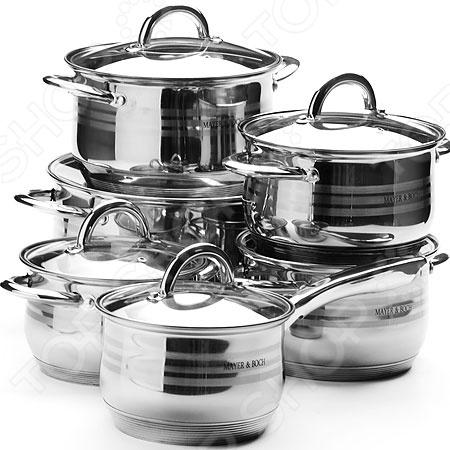 Mayer&Boch Набор посуды для готовки Mayer&Boch с гравировкой