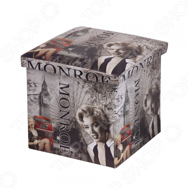 Пуф-короб для хранения Miolla Monroe