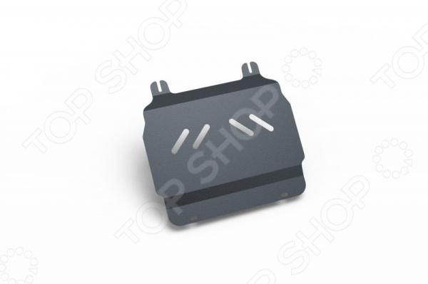 Комплект: защита картера и крепеж NLZ Chevrolet Tahoe, Cadilac Escalade 2007-2014: 5,3/6,0/6,2 бензин АКПП