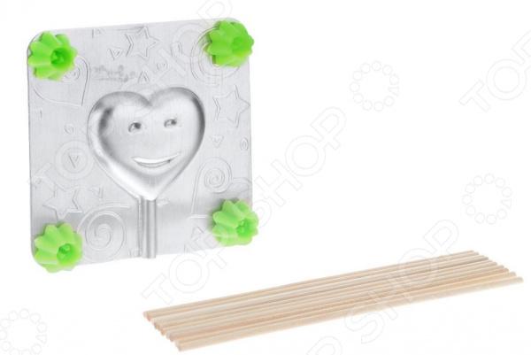 Форма для леденцов Леденцовая фабрика «Сердечко» формы для приготовления леденцов на палочке