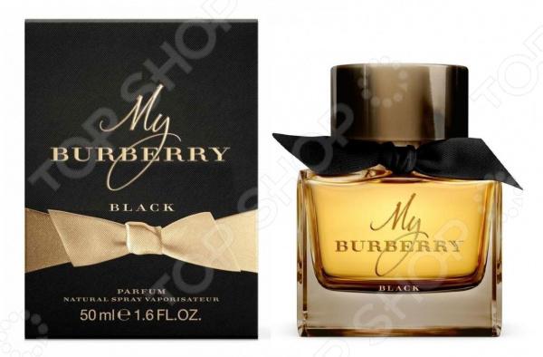 Парфюмированная вода для женщин Burberry My Burberry Black, 50 мл туалетная вода burberry my burberry lady туалетная вода 50 мл