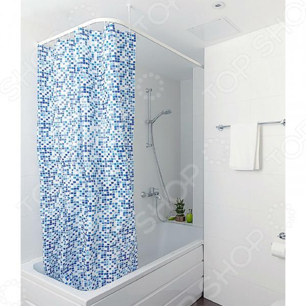 Штора для ванной Tatkraft Pixel