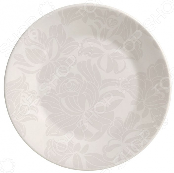 Тарелка обеденная Biona Blank Grey тарелка обеденная biona beauty