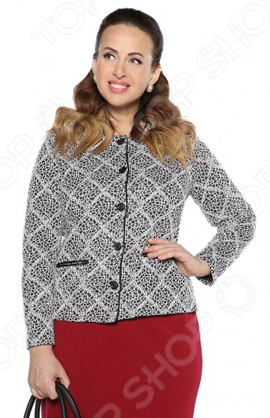 Жакет Milana Style «Роза ветров». Цвет: розовый платье milana style milana style mi038ewxjv28