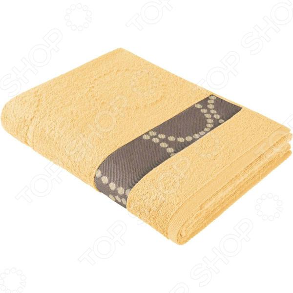 Полотенце махровое Aquarelle «Таллин вид 2». Цвет: светло-желтый полотенце махровое aquarelle таллин 1 цвет ваниль 50 х 90 см 707762
