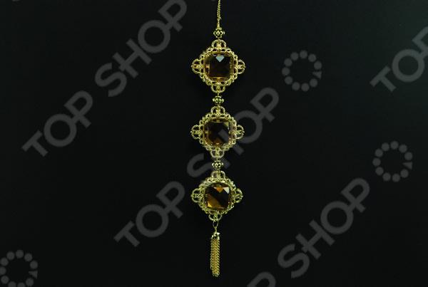 Новогоднее украшение Crystal Deco «Подвеска узорная»