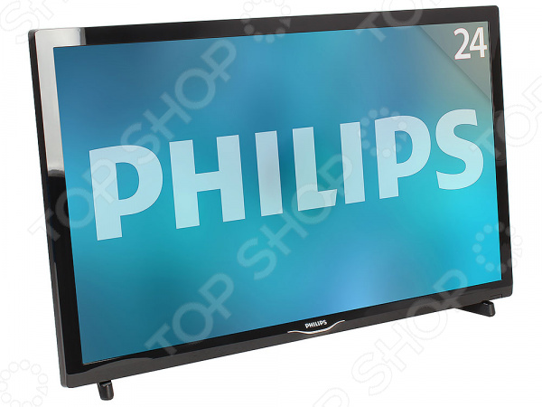 Телевизор Philips 24PHT4031/60 led телевизор philips 24pht4031 60