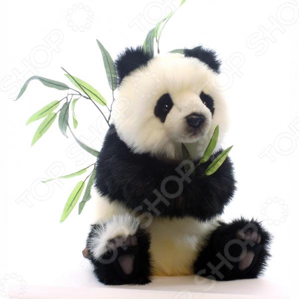 Мягкая игрушка Hansa «Детеныш панды сидячий» мягкие игрушки folkmanis детеныш панды 23 см