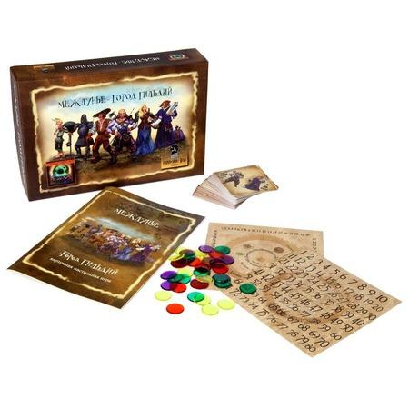Игра настольная для компании Pandora's Box Studio «Межлунье-город гильдий»