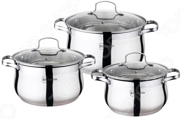 Набор посуды для готовки Rainstahl RS-1454-06 набор посуды rainstahl 8 предметов 0716bh