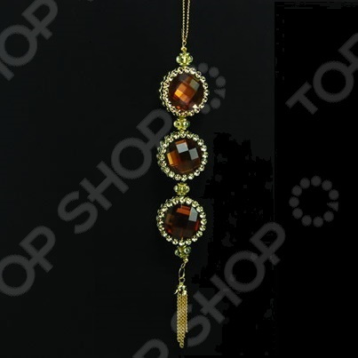 Новогоднее украшение Crystal Deco «Подвеска декоративная»