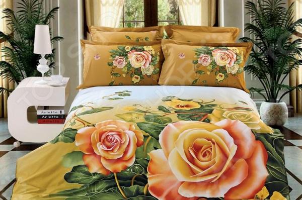 Комплект постельного белья МарТекс «Чайная Роза»