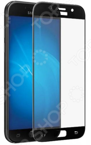 Стекло защитное 3D Media Gadget для Samsung Galaxy A3 2017 media gadget для samsung galaxy ace 4 глянцевая