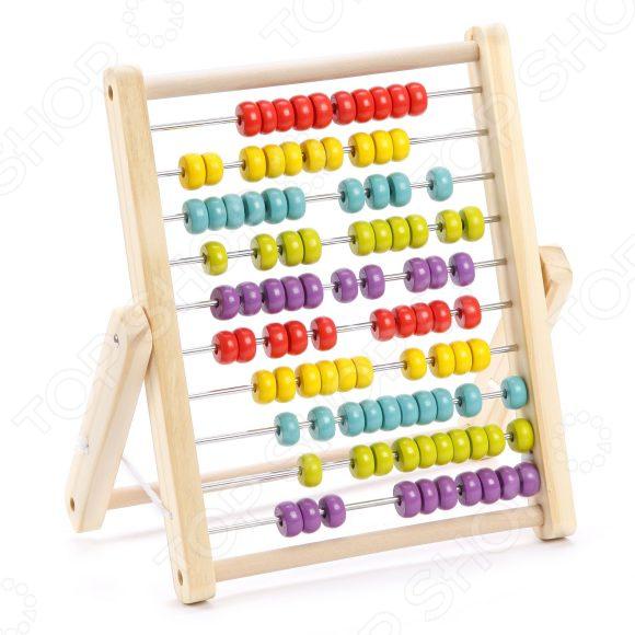 Игрушка развивающая для малыша Mapacha Счеты большие развивающая игрушка пластмастер счеты фрукты разноцветный