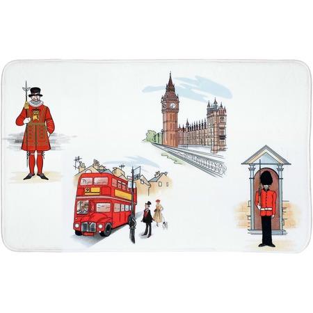 Купить Коврик для ванной Tatkraft London City