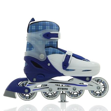 Купить Детские роликовые коньки Atemi AJIS-12.06 Square. Цвет: синий
