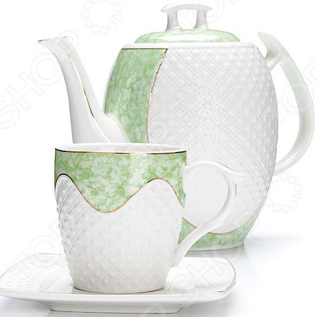 Чайный сервиз «Комплимент» creative набор для творчества украшаем чайный сервиз
