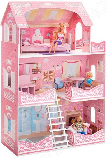 Кукольный дом с аксессуарами PAREMO «Адель Шарман»