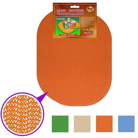 Набор ковриков для сушки посуды Мультидом FJ87-88. В ассортименте