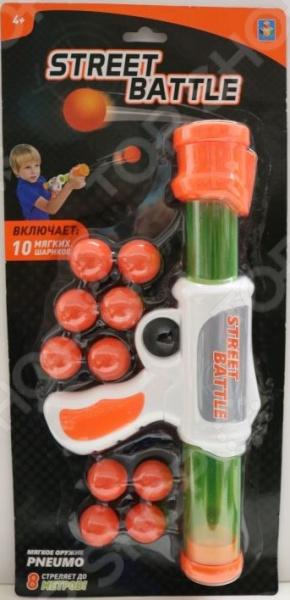 Оружие игрушечное 1 Toy Street Battle Т13647 игрушечное оружие maskbro maskbro mp002xc006ut