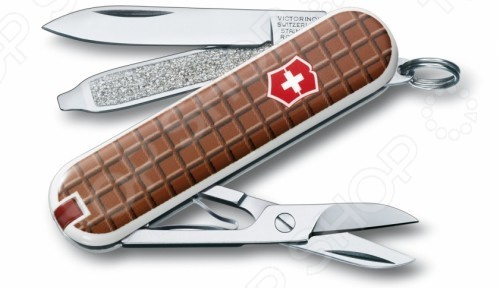 Нож перочинный Victorinox Classic 0.6223.842 The Chocolate полесье велосипед трехколесный дидактик 2 46352