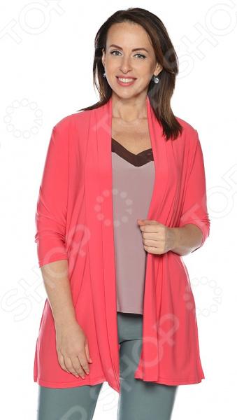 Кардиган VEAS «Мелисса». Цвет: розовый
