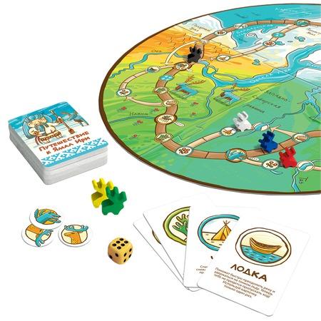 Игра настольная для компании Сквирл «Путешествие к Ямал Ири»