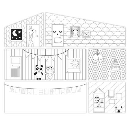Купить Аксессуары для домика Lundby «Креативные обои»