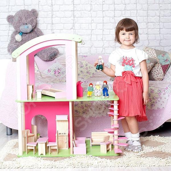 Кукольный дом с аксессуарами Craft Premier «Флоренция»
