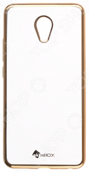Чехол защитный skinBOX Meizu M5 Note skinbox 4people чехол для meizu m2 note blue