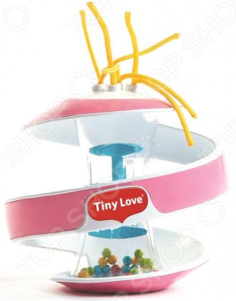 Игрушка-погремушка развивающая Tiny love с веревочками «Чудо-шар»