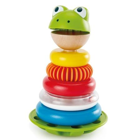 Купить Пирамидка-неваляшка Hape Mr. Frog