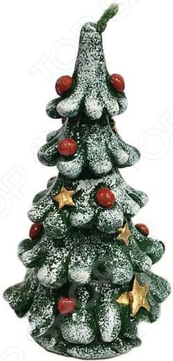 Свеча декоративная Новогодняя сказка «Елочка» свеча вязанная елочка