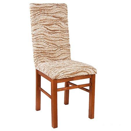 Купить Натяжной чехол на стул Еврочехол «Виста. Элегант Крем»