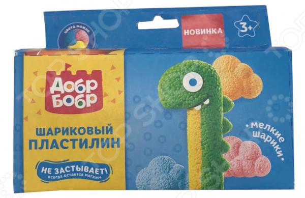 Набор шарикового пластилина 1 Toy мелкозернистый